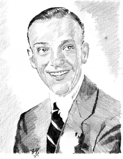 Fred Astaire by bigbudmeg